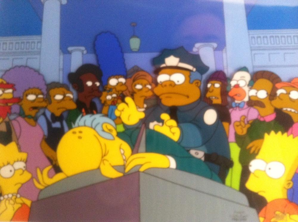 D'oh, A Simpsons Marathon Challenge     (1/2)