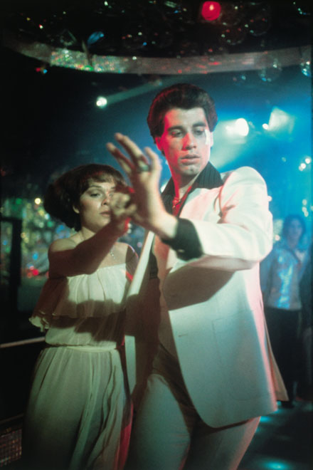 John Travolta dancing - Saturday Night Fever