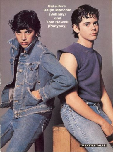 The Outsiders - Johnny and Ponyboy