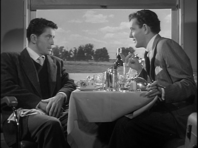 "Alfred Hitchcock's ""Strangers on a Train"" (1951)"