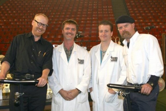 Mythbusters' Adam Savage and Jamie Hyneman