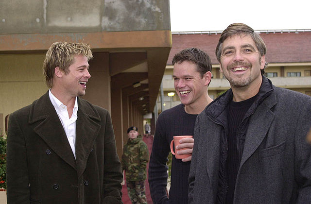 Just what are the odds of pulling off the perfect sting? (Brad Pitt, Matt Damon and George Clooney)