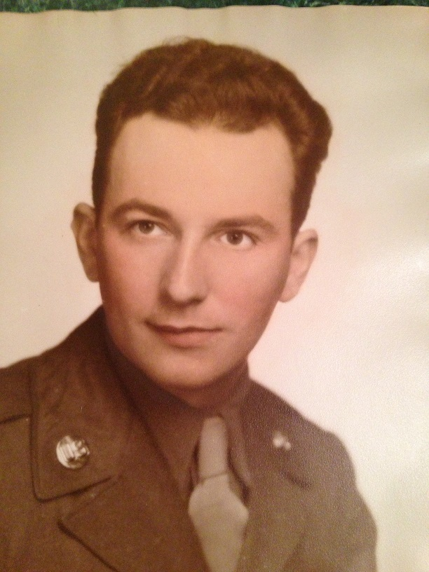 My Dad in his World War II Army photo