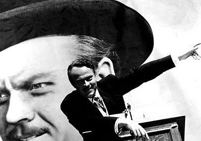 "Orson Welles as Charles Foster Kane in ""Citizen Kane"""