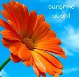 sunshine award - pinterest