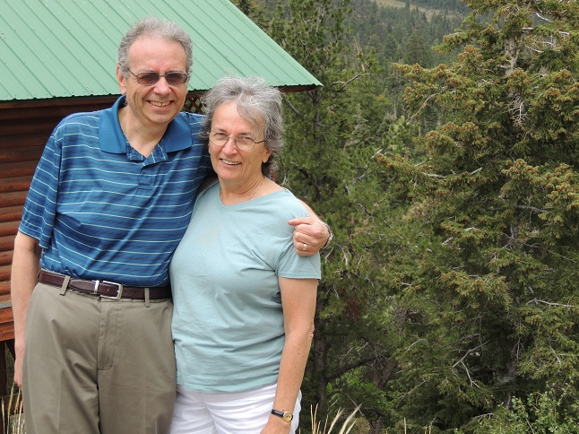Dave and me in Mount Charleston, Nevada