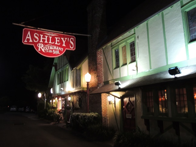 Ashley S Haunted Restaurant Rockledge Menu