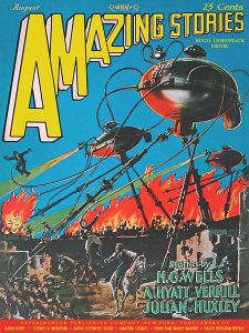 War of the Worlds - Amazing Stories - 1927