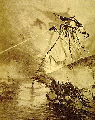 War of the Worlds - illustration2 - tripod