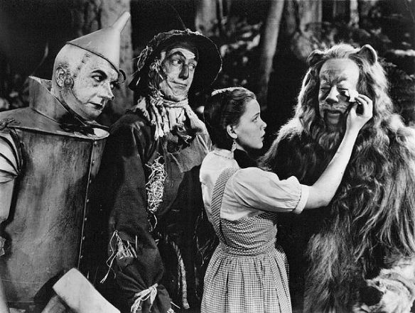 The Wizard of Oz - Haley, Bolger, Garland, Lahr - 1939