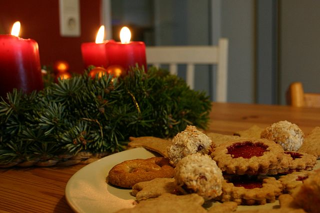 Christmas and cookies