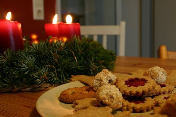 Christmas and cookies