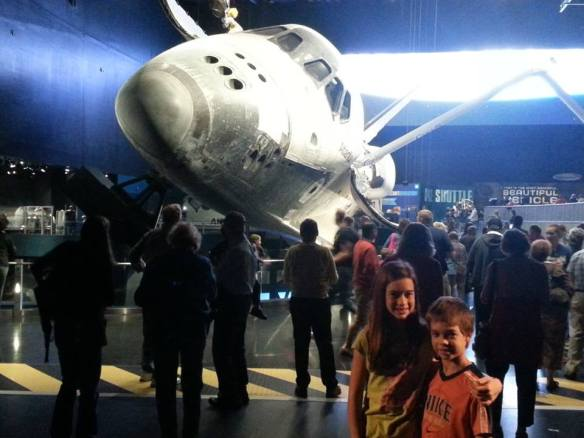 Kennedy Space Center -Kaitlyn and Connor - 11-29-13