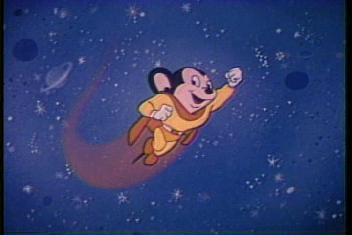 Mighty Mouse - cartoon