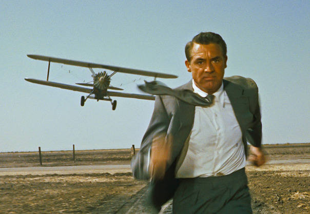 North by Northwest - Cary Grant - plane - 1959