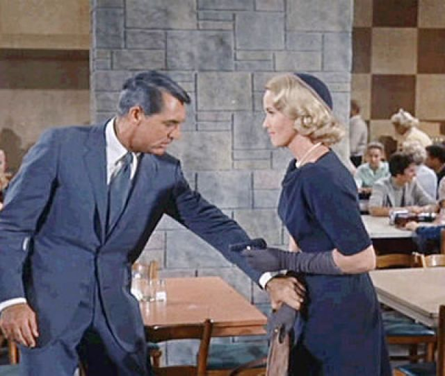 North By Northwest Eva Marie Saint Shooting Cary Grant