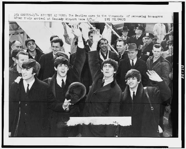 The British Invastion - The Beatles - Kennedy Airport - February 1964
