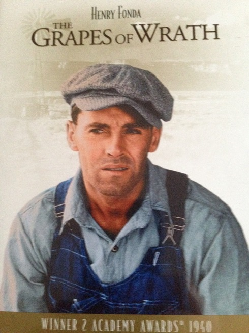 Grapes of Wrath - Henry Fonda - DVD cover