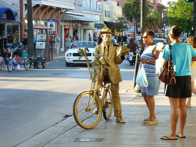 Key West - Golden Man