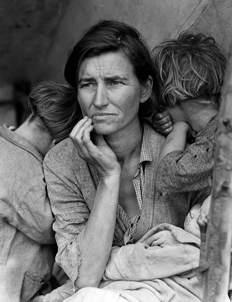 Migrant Mother - Florence Owens Thompson - 1936