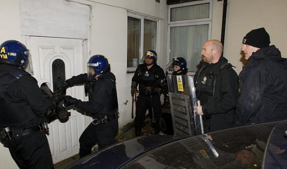 Drug Raid - in Dudley, United Kingdom