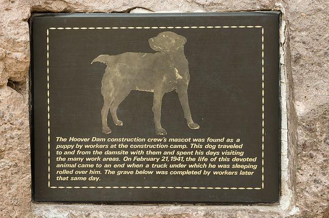 Hoover Dam - mascot