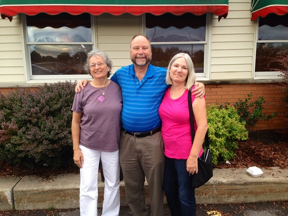Syracuse - Judy, Mark and Karen Bialczak - July 2014