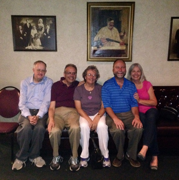 Syracuse - Mark Murphy, Dave, Judy, Mark and Karen Bialczak - July 2014