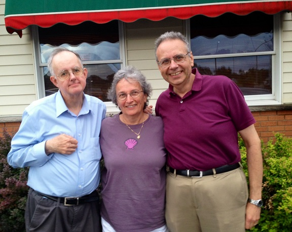 Syracuse - Mark Murphy, Judy and Dave - July 2014