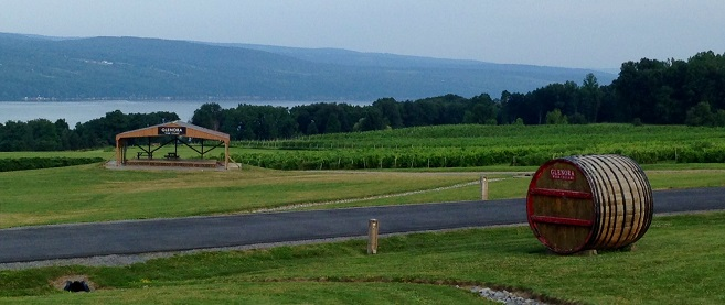 Watkins Glen - Glenora Winery - July 2014