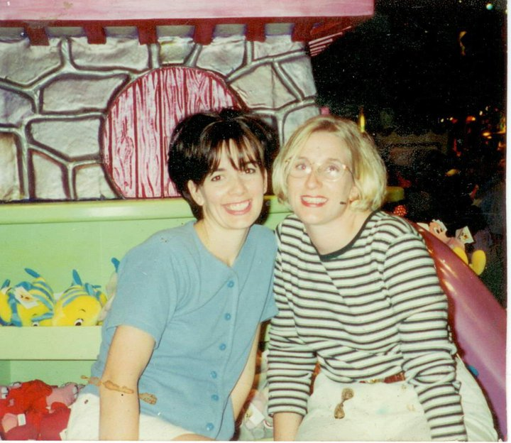 Danielle and Jennifer - Thanksgiving 1998