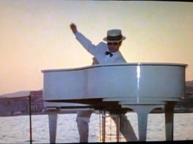 Elton John in 1980s - I'm Still Standing - video