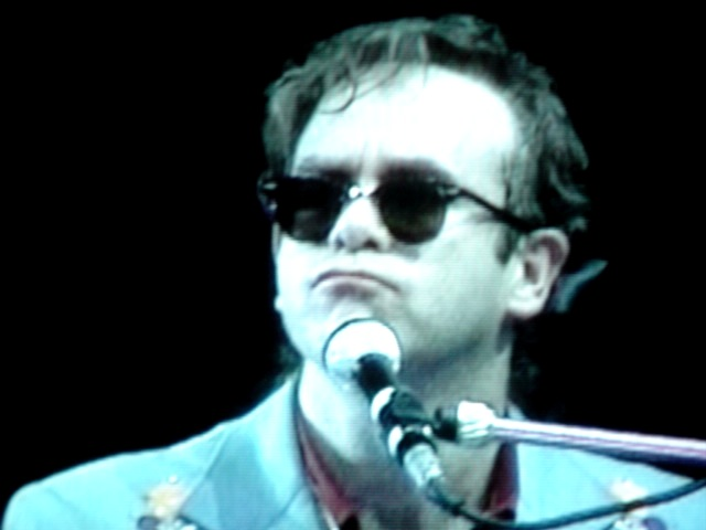 Elton John in 1980s