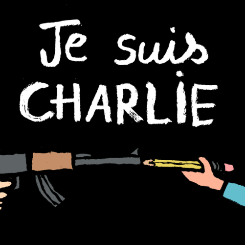 cartoon - Jean Jullien - Je Suis Charlie