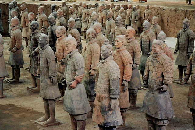 Terracotta Army - the museum in Cocoa Beach aims to acquire some replicas to add to a mural depicting them.