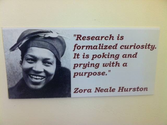Quotes About Love By Zora Neale Hurston : ... depending on somebody elses god by Zora Neale Hurston @ Like Success