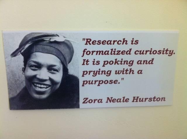 Zora Neale Hurston - quote
