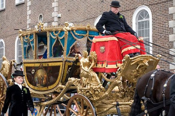 St. Patrick's Day Parade - Dublin - 2007 -_Lord_Mayors_State_Coach