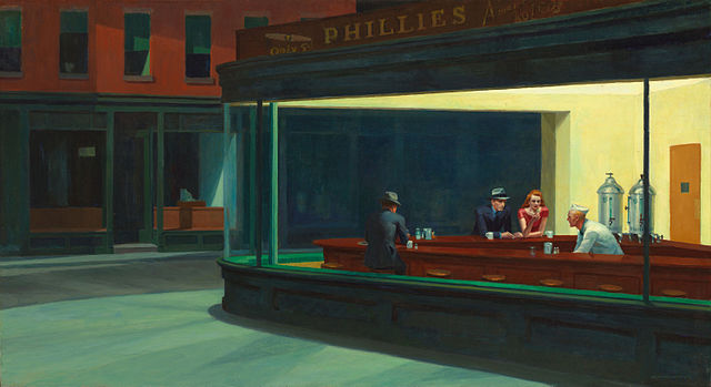 Edward Hopper - Nighthawks - 1942