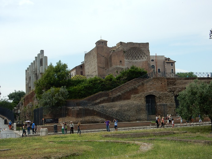 Rome - family vacation - June 2015 (20) - Palatine Hill