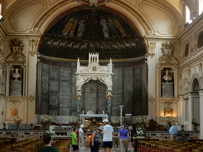 Rome - family vacation - June 2015 (26) - St. Cecilia's