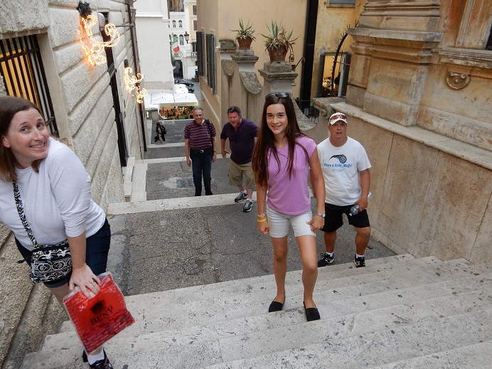 Rome - family vacation - June 2015 (209) - The Spanish Steps