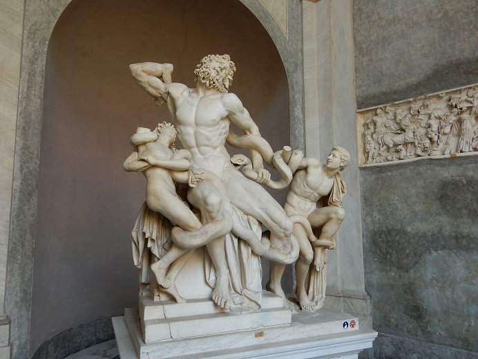 Rome - family vacation - Vatican - June 2015 (49) - Laocoon and his Sons
