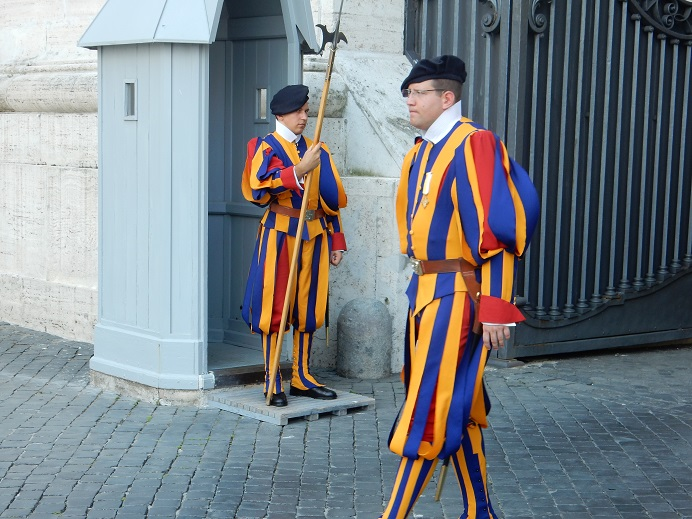 Rome - family vacation - Vatican - June 2015 (80) - Swiss guards