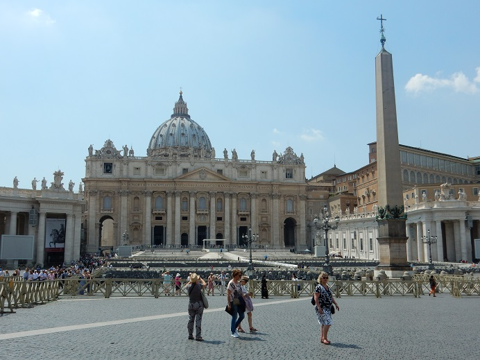 Rome - family vacation - Vatican - June 2015 (84) - view of St. Peter's Basilica