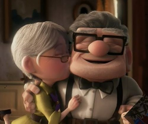 Up - couple in the movie