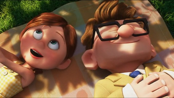 Up - couple in the movie2