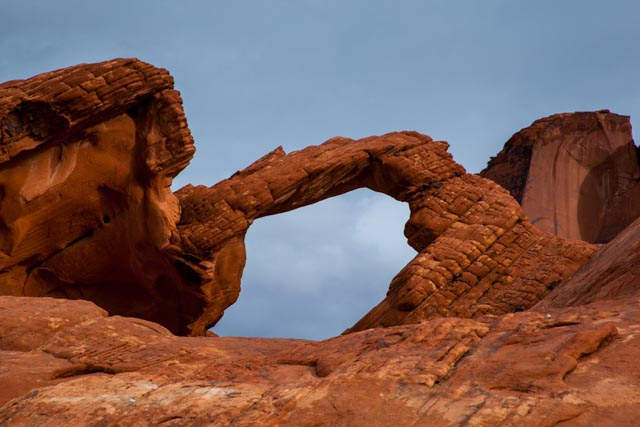 The Arch Rock, Valley of Fire State Park, Nevada