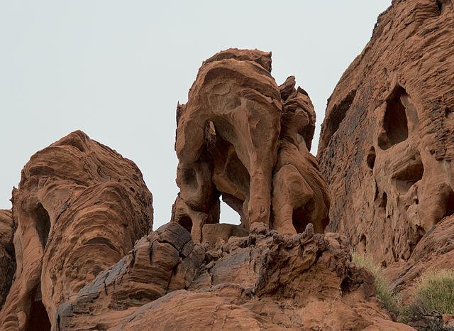 Nightmare? Rock formations