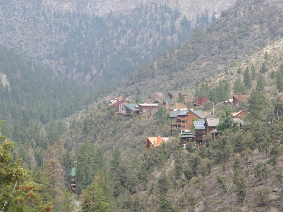 view from Mt. Charleston Lodge - 2013